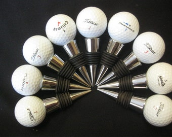 Golf Ball Wine Stopper **Ships Next Day**