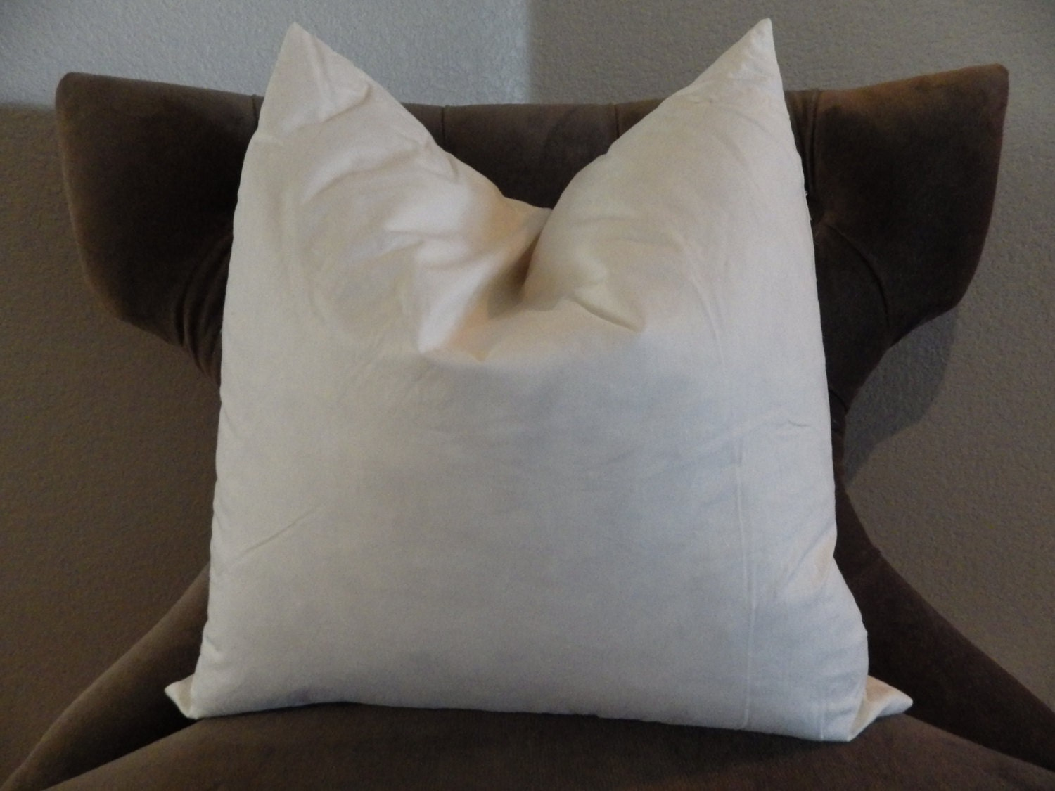 20 inch feather pillow insert 20 x 20 feather pillow form for Best down pillow inserts