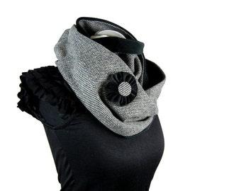 RundSchal Loop Blume Infinity scarf Circle Scarf