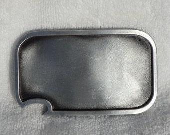 Blank belt buckle - with built-in bottle opener
