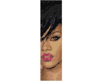 Pattern peyote Rihanna, (PDF for bracelet)