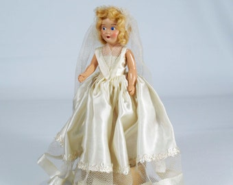 Vintage 1950's Engagement/Bridal Doll, Vinyl