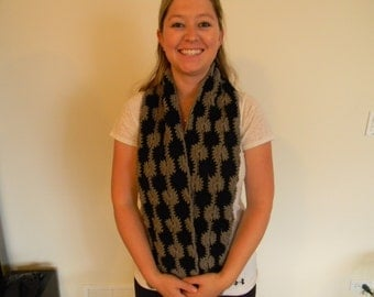 Crochet Scarf - Two colors