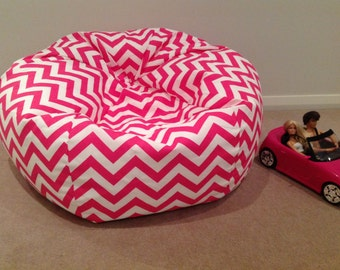 Bean Bag Zig Zag Kids Cover Chevron Adults Hot