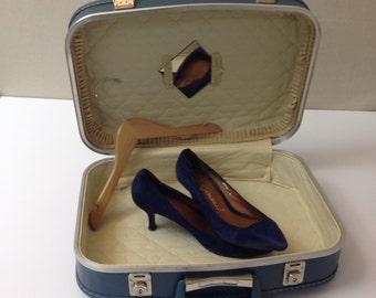 Vintage Sapphire Luggage