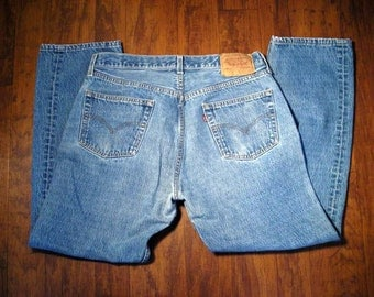 Levis 501 Vintage  Button Fly Jeans Size W36 L 30 / Please contact me for international shipping costs.