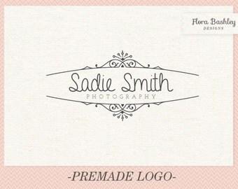 Custom Logo Design Premade Logo and Watermark - FB028