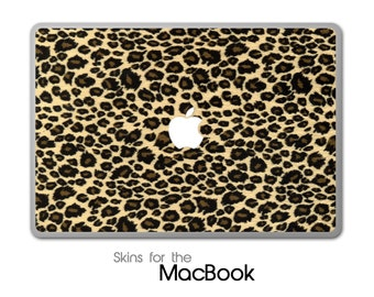 "Leopard Animal Print Skin for the MacBook 11"", 13"" or 15"""