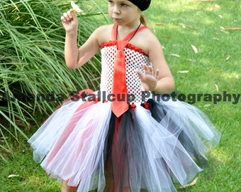 tutu dress with a tie