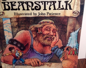 Jack and the Beanstalk, Once Upon A Storytime Series, 1990, Illustrated by John Patience.