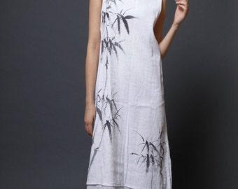 Maxi Dress Long Dress Maxi Dresses Long Dresses Summer Dress Summer Dresses Hand Painted Dress Womens Maxi Dress Womens Long Dress Plus Size