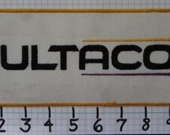 "Vintage ""Bultaco"" Motorcycle Patch (004)"