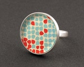 Ring Muster - 925er Sterlingsilber