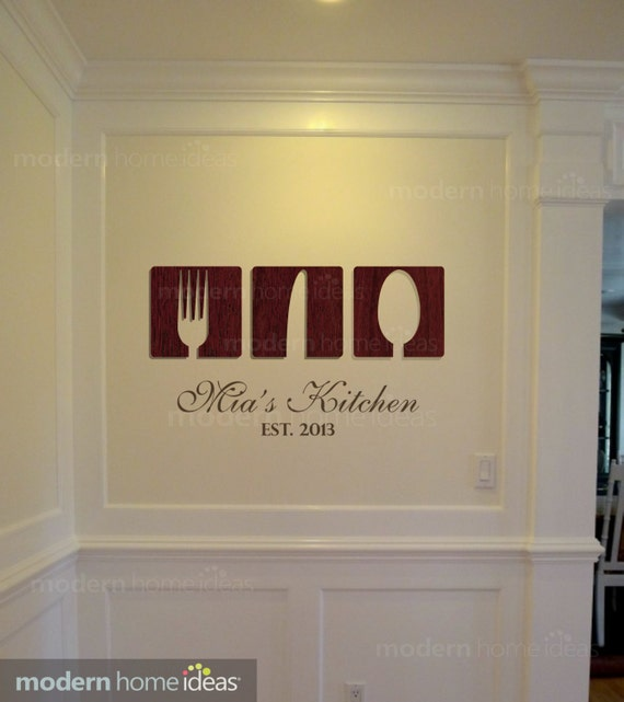 Items similar to kitchen wall decoration custom kitchen for Handmade kitchen decoration