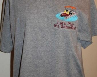 Custom Pontoon Boat Shirt