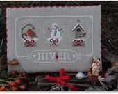 Cross Stitch Pattern: Hiver