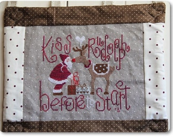 Cross Stitch Pattern: Kiss