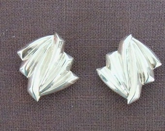 Silver NF 925 Clip Earrings