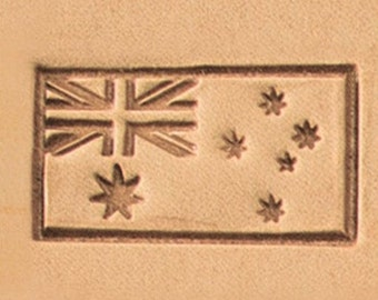 Australian Flag -  Leather Stamp Tool