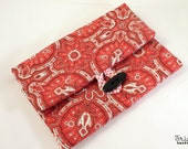 SPECIAL OFFER:Knitting Needle Case for interchangeable and circular needles - with zippered pocket - 14 POCKETS