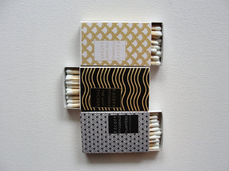 Art deco backdrop for photos wall decor party decoration 1920 s - Matchboxes F Scott Fitzgerald Mini Books Set Of 24 1920s Art Deco