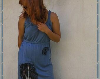 DRESSES with BORZOI