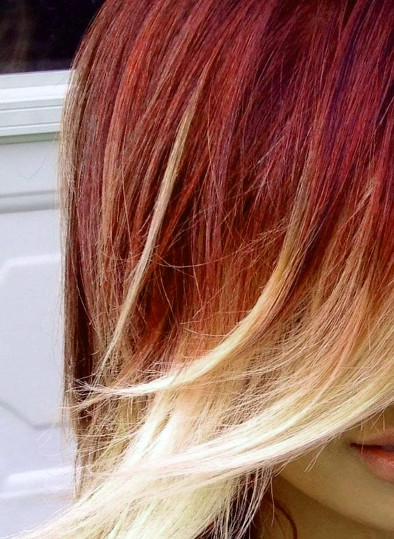 Items Similar To Sale Hair Chalk Red Brown Temporary