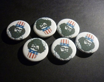"""Allen Ginsberg Handmade 1"""" Button Badge"""