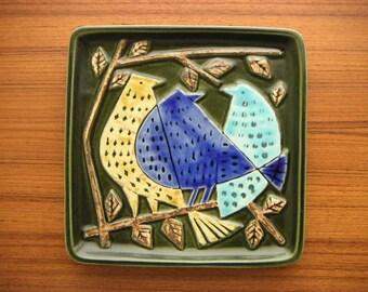 Lisa Larson for Gustavsberg 'Harlekin' Plate