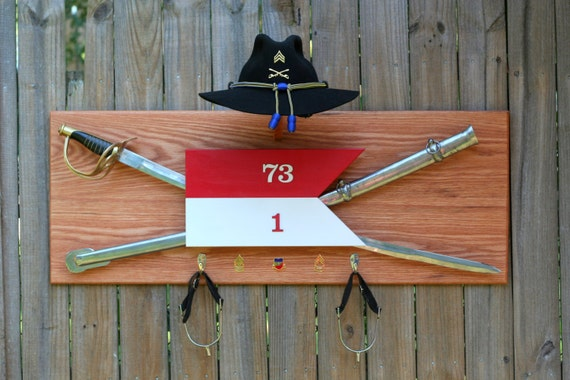 Items Similar To Cavalry Stetson Saber And Spur Display