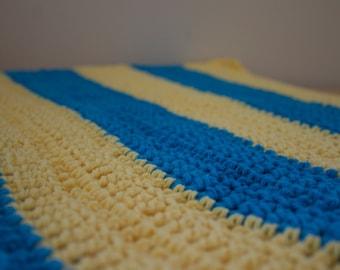 Blueberry Lemonade Baby Blanket /Photo Prop
