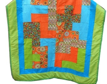 Pentominoes Baby Quilt Pattern