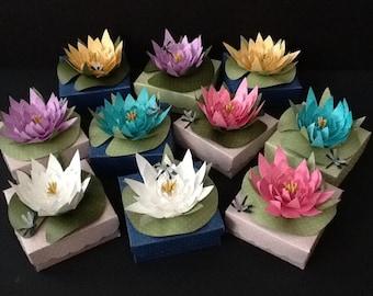 Lily Pad Favor box