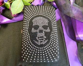 Skull Wallet/ Clutch