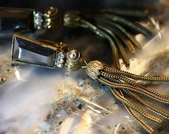 Vintage Ermani Bulatti Deco Earrings