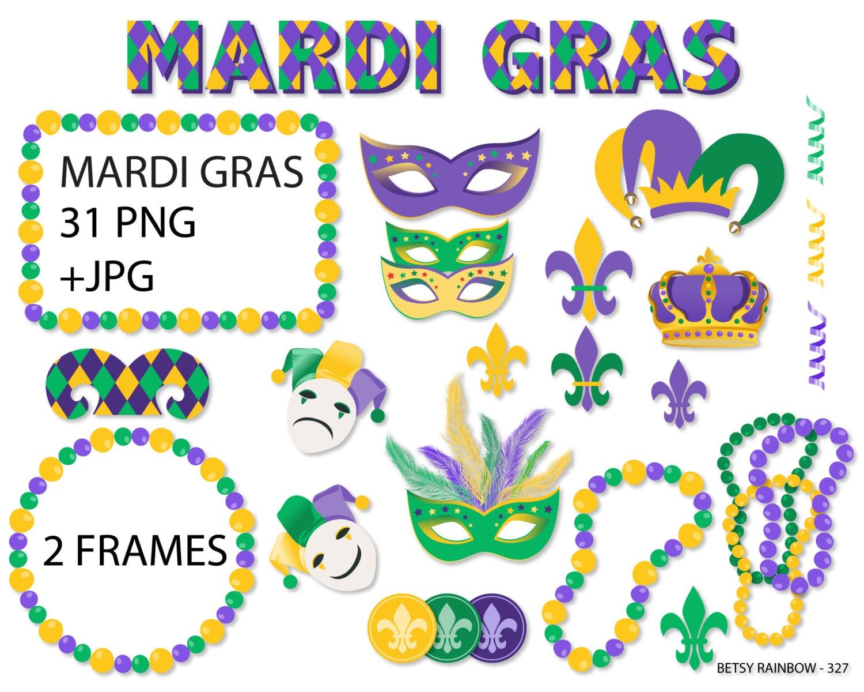 Mardi Gras Clipart Mardi Gras Carnival Clipart Jester Crown Fleur De Lis