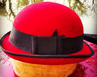 Bowler Hat - Choice of Colour and Band - Made to Measure