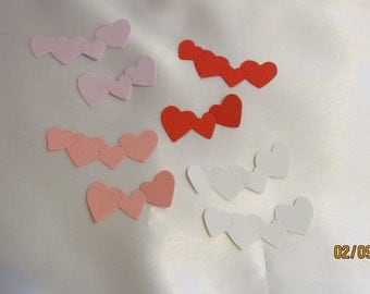 heart strip die cuts