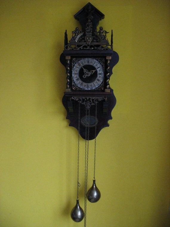 A Dutch Warmink Zaanse Wall Clock Wuba