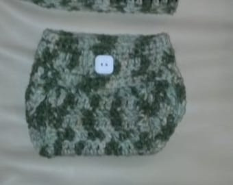 Baby boy camo outfit