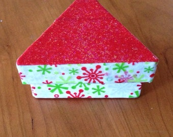 Triangle Shaped Christmas Gift Box