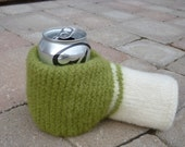 PDF Pattern for Felted Beer Mitten Knitting Pattern DOWNLOAD