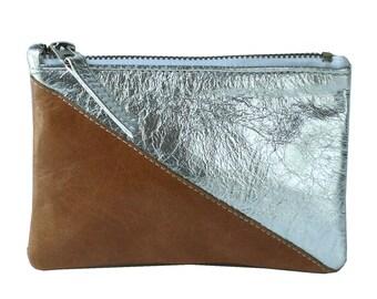 2-Tone Zip Wallet