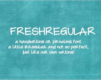 Freshregular Font