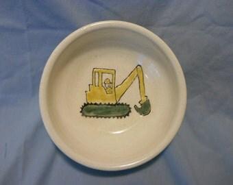 Construction bowl handmade