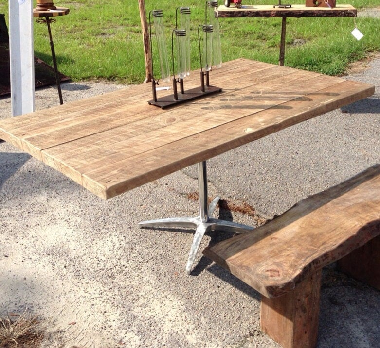 Antique Barn Wood Kitchen Table