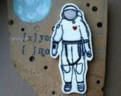 Little Astronaut- Handmade Pin