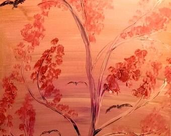 Pink Skies - 18x24