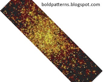 Bead Pattern (peyote stitch), bracelet