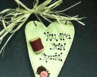 SEW special ornament